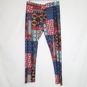 American Eagle High Rise Leggings Yoga Pants Large